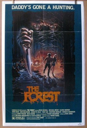 "The Forest - 1983 - One Sheet Movie Poster - 27""x 41"" -"