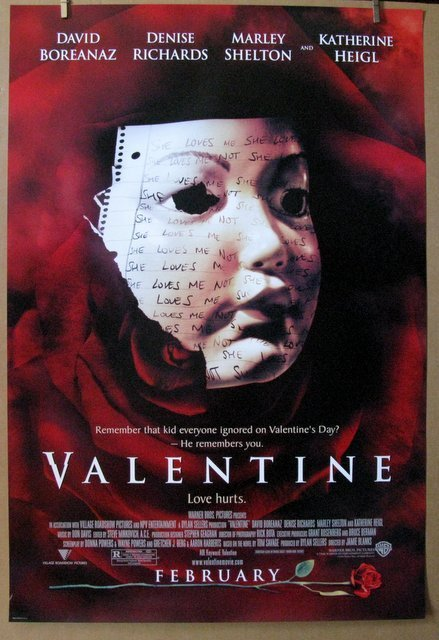 """VALENTINE - 2000 - One Sheet Movie Poster - 27""""x 40"""" -"""