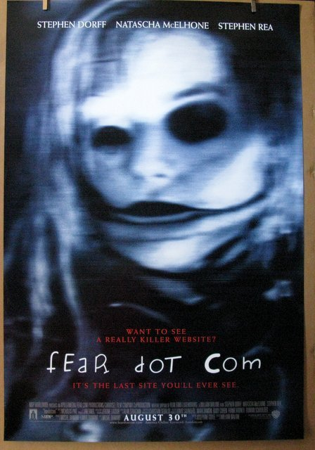 "FEAR DOT COM - 2002 - One Sheet Movie Poster - 27""x 40"""