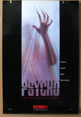 Psycho - 1998 - Modern Remake Of The Hitchcock Classic
