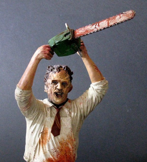 LEATHERFACE - TEXAS CHAINSAW MASSACRE - PRO PAINTED