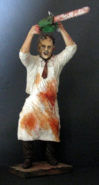 LEATHERFACE - TEXAS CHAINSAW MASSACRE - PRO PAINTED - 2