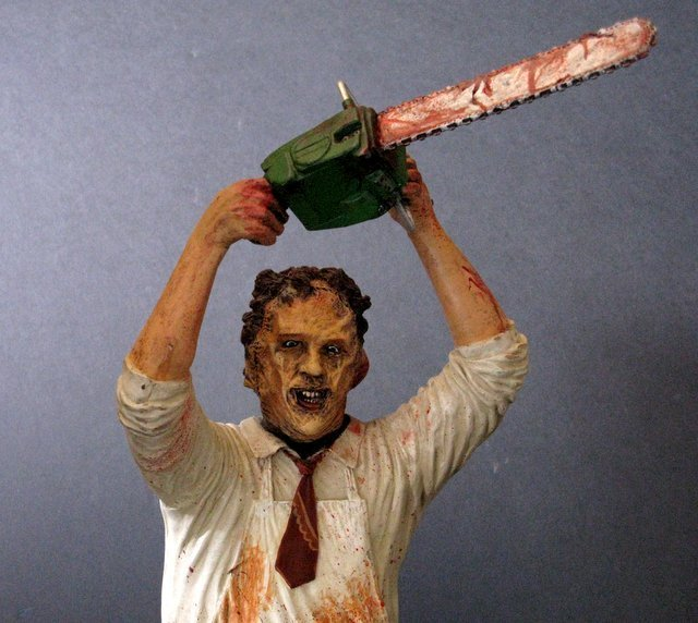 LEATHERFACE - TEXAS CHAINSAW MASSACRE - PRO PAINTED - 4
