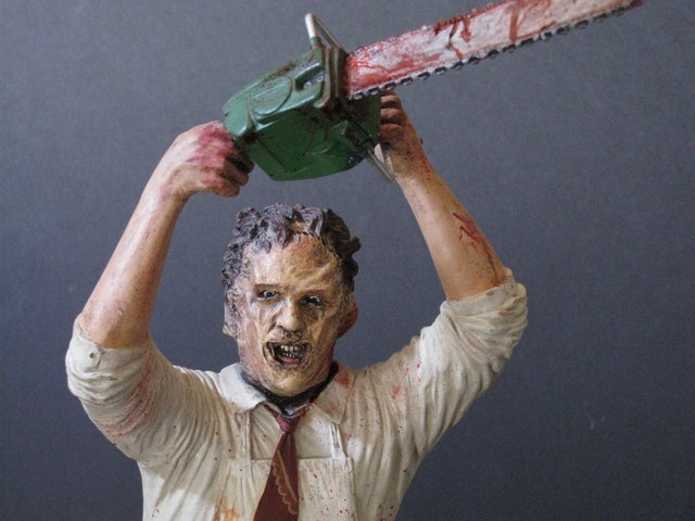 LEATHERFACE - TEXAS CHAINSAW MASSACRE - PRO PAINTED - 7