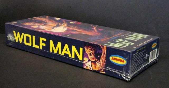 THE WOLF MAN RE-ISSUE OF THE CLASSIC 60'S AURORA MODEL - 2