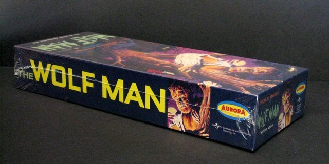 THE WOLF MAN RE-ISSUE OF THE CLASSIC 60'S AURORA MODEL - 3