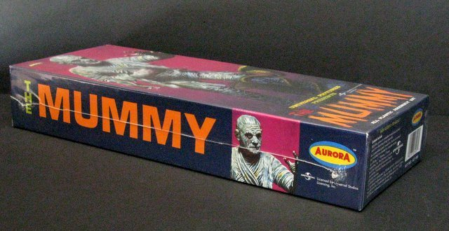 THE MUMMY RE-ISSUE OF THE CLASSIC 60'S AURORA MODEL KIT - 2