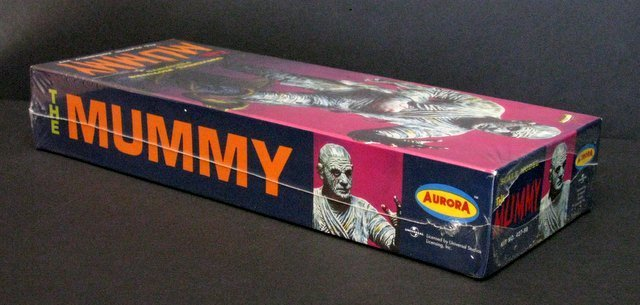 THE MUMMY RE-ISSUE OF THE CLASSIC 60'S AURORA MODEL KIT - 3
