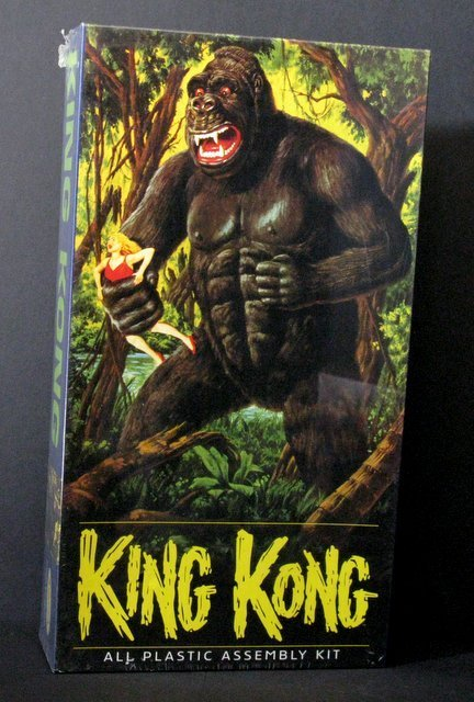 KING KONG RE-ISSUE OF THE CLASSIC 60'S AURORA MODEL KIT