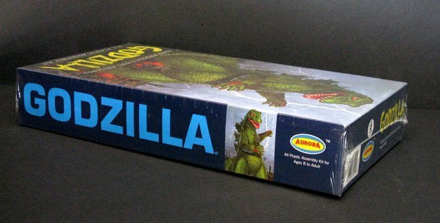 GODZILLA RE-ISSUE OF THE CLASSIC 60'S AURORA MODEL KIT - 3