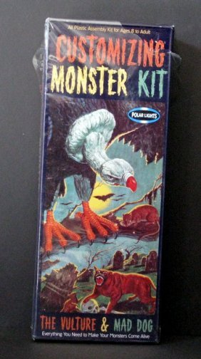 Customizing Monster Kit #2: Vulture & Mad Dog Re-issue