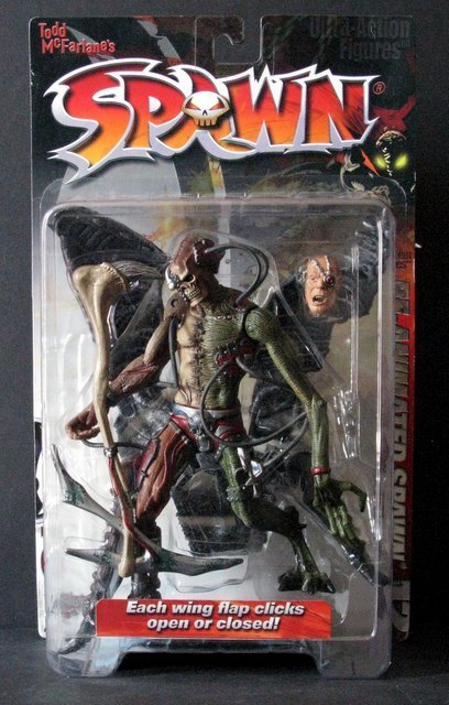 "RE-ANIMATED SPAWN 7"" ACTION FIGURE, McFarlane Toys,"