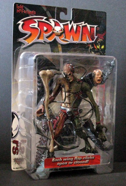 "RE-ANIMATED SPAWN 7"" ACTION FIGURE, McFarlane Toys, - 2"