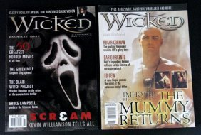 Wicked Magazine - First Two Issues - 1993 - Full-color,