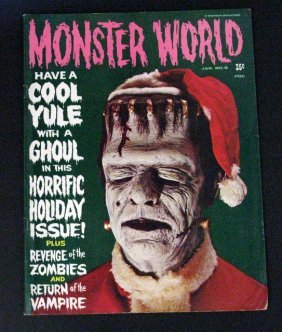 Monster World Magazine Holiday Issue #6 - Warren