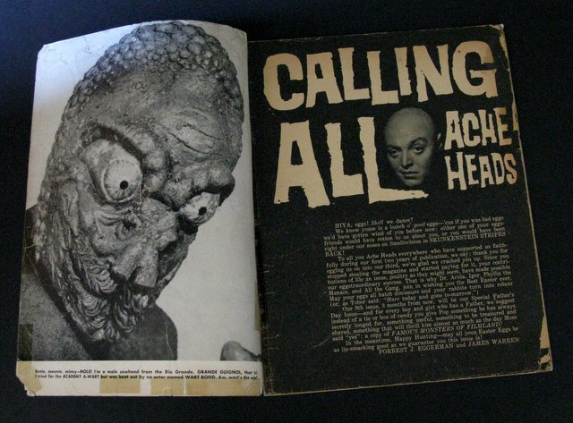 FAMOUS MONSTERS OF FILMLAND MAGAZINES - LOT OF TWO - 2