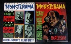 Forrest J Ackerman's Monsterama Magazine Issues #1 & 2