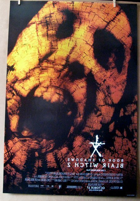 BLAIR WITCH TWO, BOOK OF SHADOWS - 2000 - Two One Sheet - 2