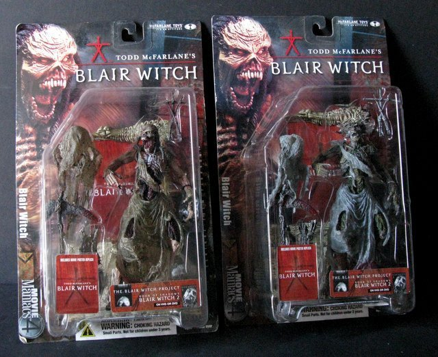 "BLAIR WITCH 7"" ACTION FIGURES - LOT OF TWO - MCFARLANE - 2"