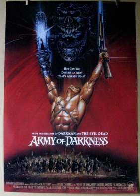 Army Of Darkness - 1992 - Style B One Sheet Movie