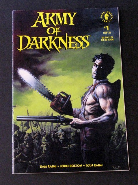 ARMY OF DARKNESS - COMIC BOOK ISSUE #1 - Dark Horse