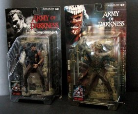 "Ash & Evil Ash - Two 7"" Action Figures - Mcfarlane"