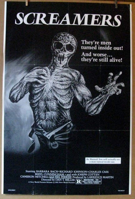 "SCREAMERS - 1981 - One Sheet Movie Poster - 26""x 39"" -"