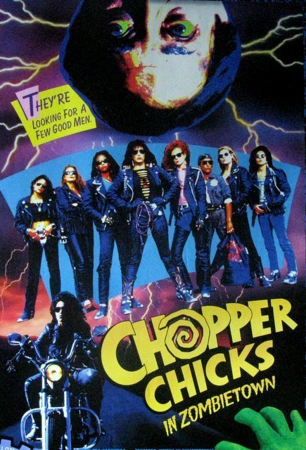 CHOPPER CHICKS IN ZOMBIE TOWN - 1989 - Untrimmed One - 2