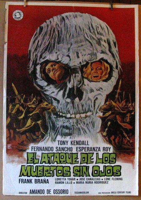 RETURN OF THE BLIND DEAD - 1973 - Original Spanish