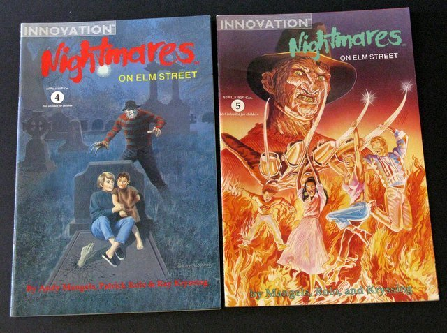 FREDDY KRUEGER - NIGHTMARES ON ELM STREET - COMIC BOOK - 3