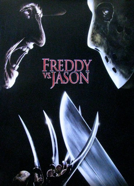 "FREDDY VS JASON - 2003 - One Sheet Movie Poster - 27""x - 2"