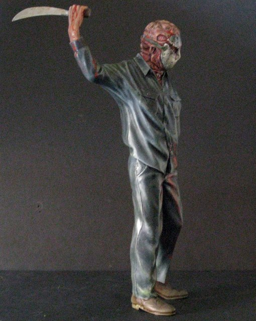 """FRIDAY THE 13TH: """"JASON GOES TO HELL"""" - PRO PAINTED - 3"""