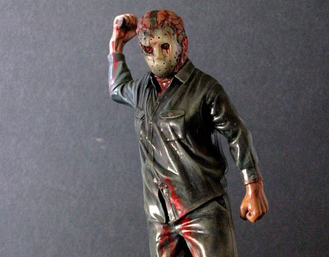 """FRIDAY THE 13TH: """"JASON GOES TO HELL"""" - PRO PAINTED - 4"""