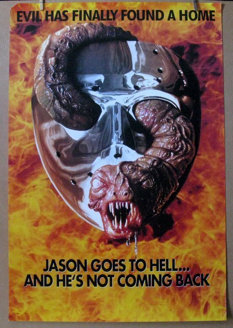 FRIDAY THE 13TH PART 9: JASON GOES TO HELL - 1993 -