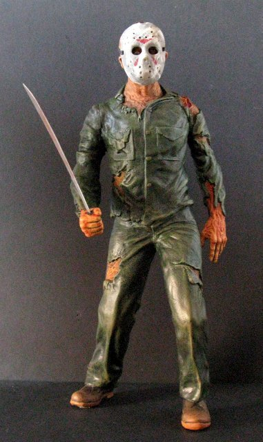 JASON - FRIDAY THE 13TH - PRO PAINTED MODEL FIGURE -