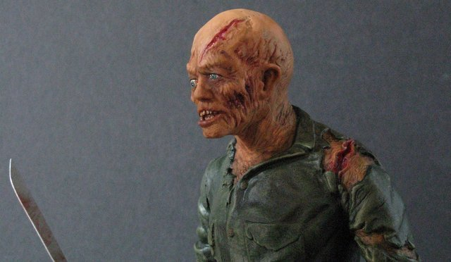 JASON - FRIDAY THE 13TH - PRO PAINTED MODEL FIGURE - - 3