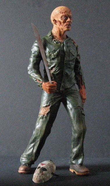 JASON - FRIDAY THE 13TH - PRO PAINTED MODEL FIGURE - - 4