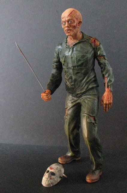 JASON - FRIDAY THE 13TH - PRO PAINTED MODEL FIGURE - - 5
