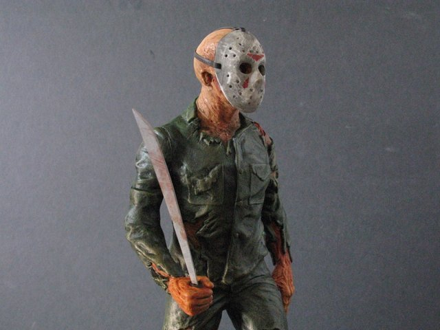 JASON - FRIDAY THE 13TH - PRO PAINTED MODEL FIGURE - - 6