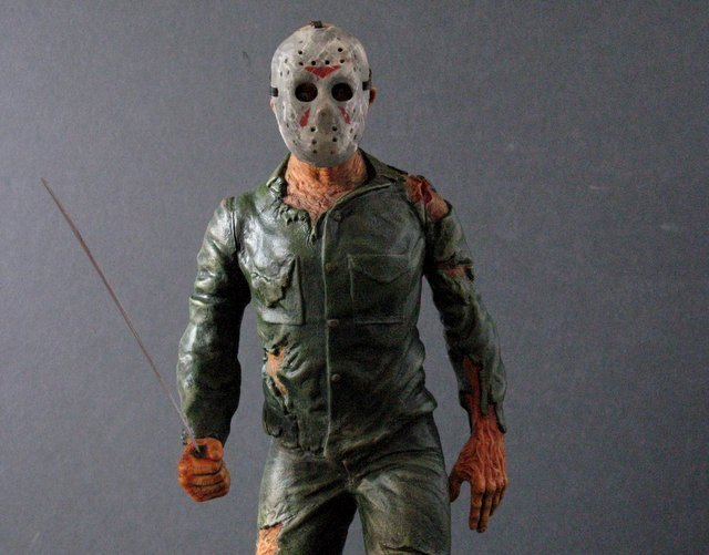 JASON - FRIDAY THE 13TH - PRO PAINTED MODEL FIGURE - - 7