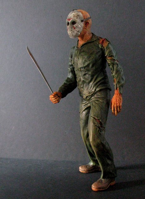 JASON - FRIDAY THE 13TH - PRO PAINTED MODEL FIGURE - - 8