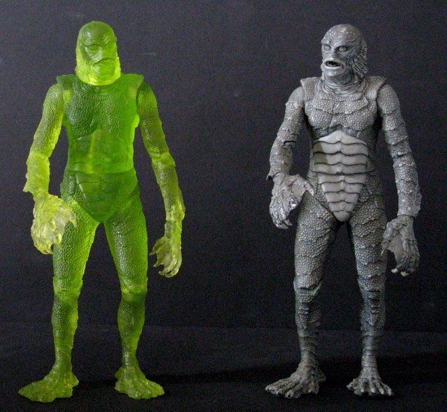 CREATURE FROM THE BLACK LAGOON - RARE ACTION FIGURE LOT