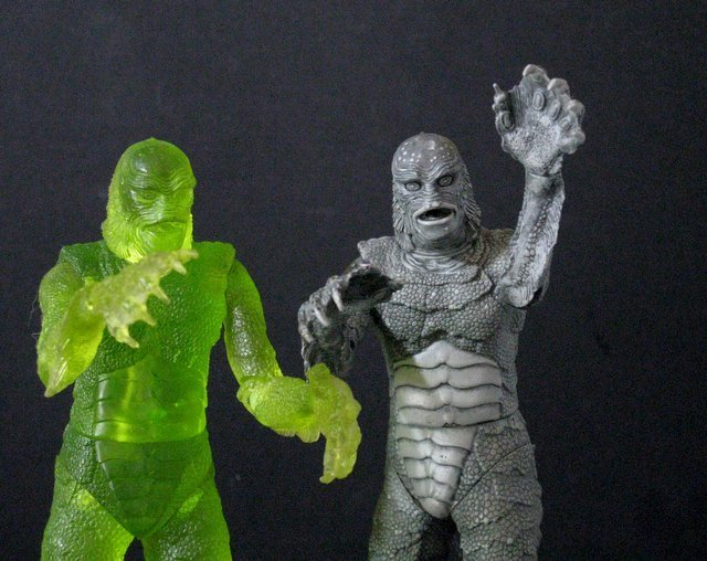 CREATURE FROM THE BLACK LAGOON - RARE ACTION FIGURE LOT - 3