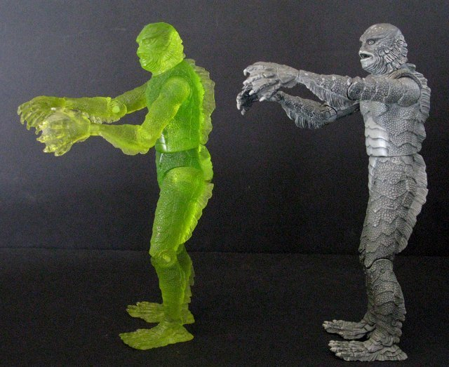 CREATURE FROM THE BLACK LAGOON - RARE ACTION FIGURE LOT - 4