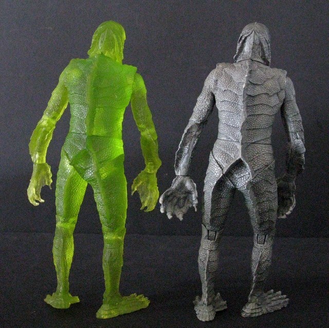 CREATURE FROM THE BLACK LAGOON - RARE ACTION FIGURE LOT - 5