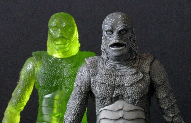 CREATURE FROM THE BLACK LAGOON - RARE ACTION FIGURE LOT - 6