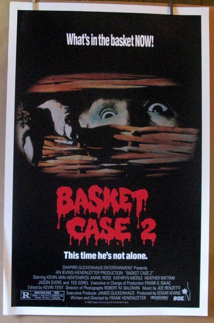 "BASKET CASE 2 - 1990 - One Sheet Movie Poster - 27""x"