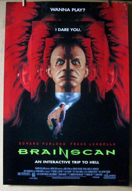 "BRAIN SCAN - 1994 - One Sheet Movie Poster - 27""x 40"" -"
