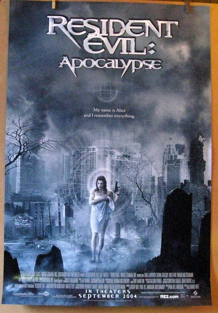 RESIDENT EVIL: APOCALYPSE - 2004 - One Sheet Movie
