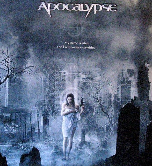 RESIDENT EVIL: APOCALYPSE - 2004 - One Sheet Movie - 2